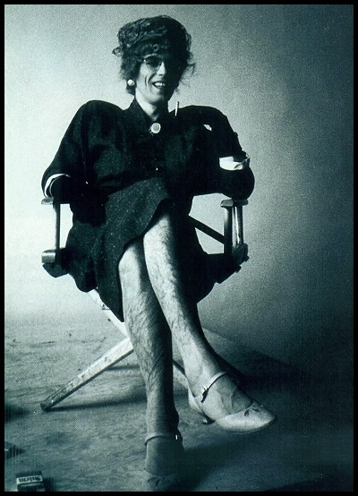 Keith Richards in drag.